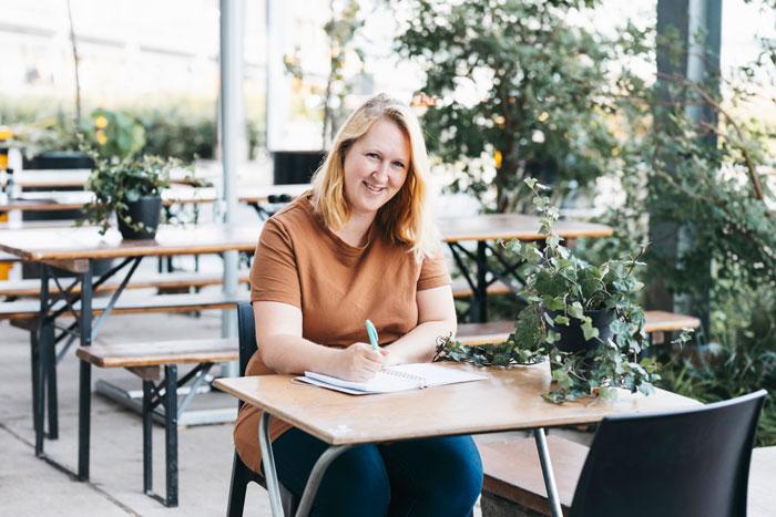 Bloggen om anderen te helpen, Nicole geeft haar bedrijf richting