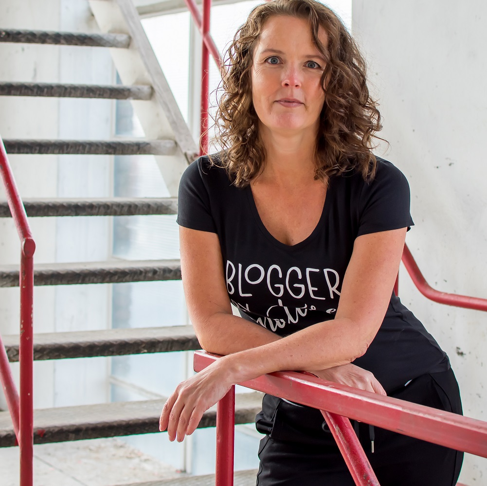 over Esmée organisator Blogger by Nature event