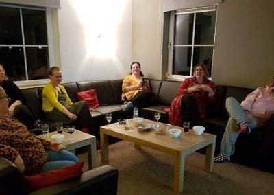 gezelligheid tijdens het boost je blog weekend