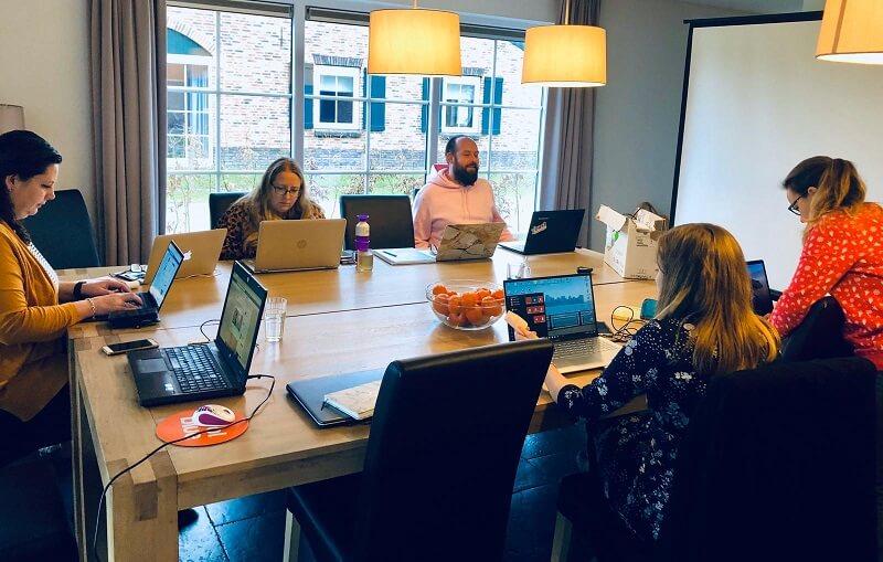 werken tijdens het boost je blog weekend