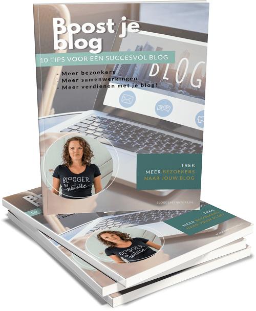 e-book met 10 tips voor bloggers