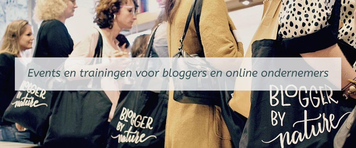 Trainingen en events voor bloggers en online ondernemers