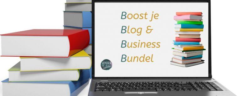 boost je blog en business bundel voor ondernemers