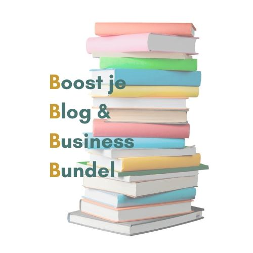 Boost je blog en business bundel