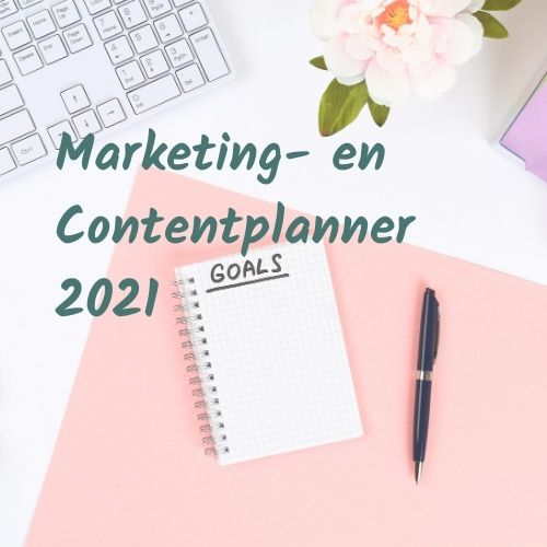Boost Marketing- en Contentplanner 2021