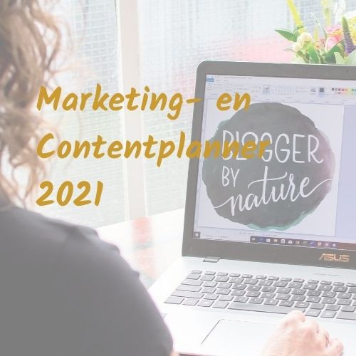Boost Marketing en Contentplanner 2021